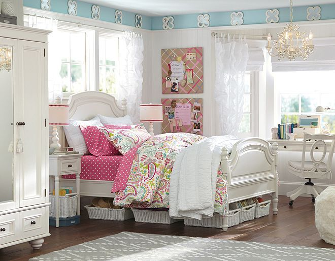 Pb Teen Girls Bedroom My Future African Home Pinterest
