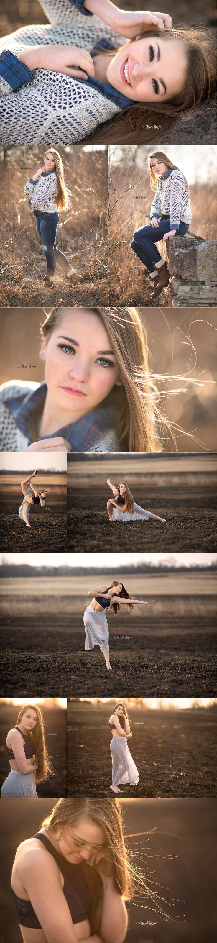 Senior photographer | Senior pictures | posing ideas | senior pose | dancer | ballerina | Illinois photographer | senior pictures | chicago photographer | Alyssa Layne Photography
