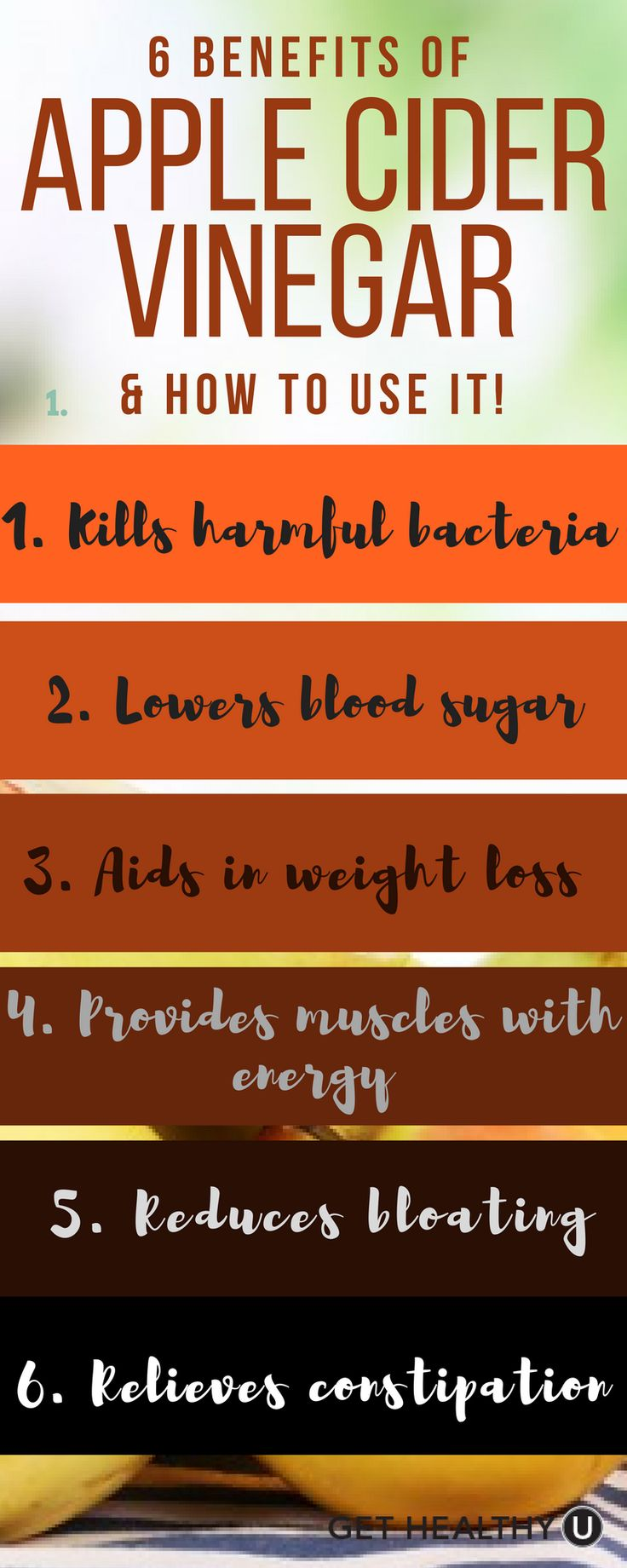 Have you been hearing about benefits of Apple Cider Vinegar? Combat issues like fatigue, bloating, digestive issues & more.. Check out our article on the 6 benefits of ACV and how to use it!