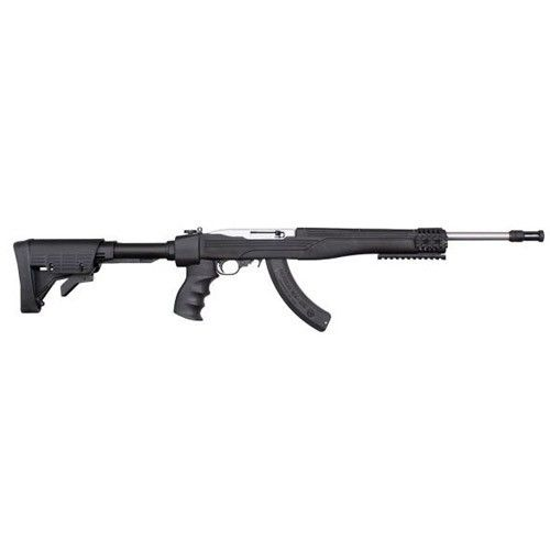 Ruger 10/22 Tactical Stainless / Black .22 LR 16.12.-inc 25Rd Folding Stock TALO Exclusive