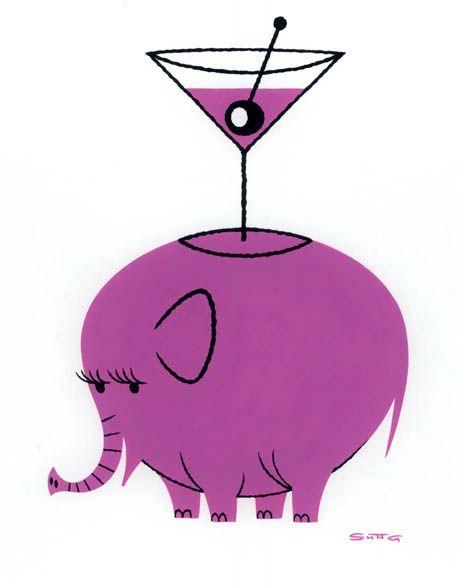 Pink Elephant #12