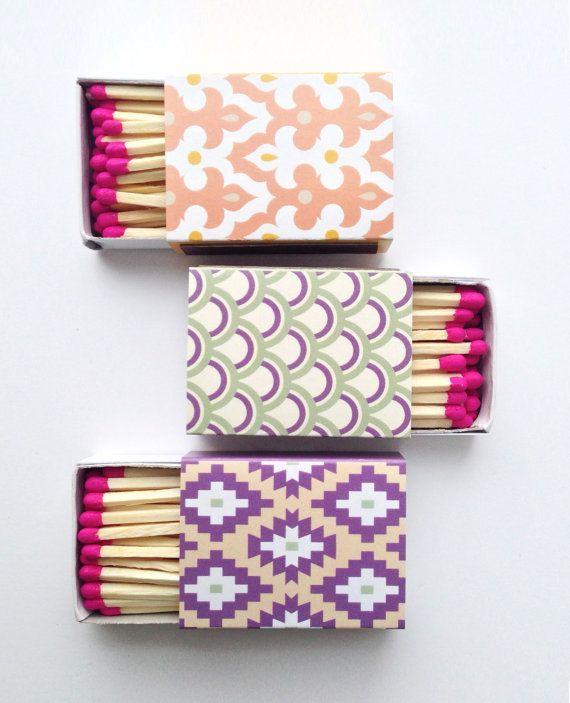 decorative matchbooks