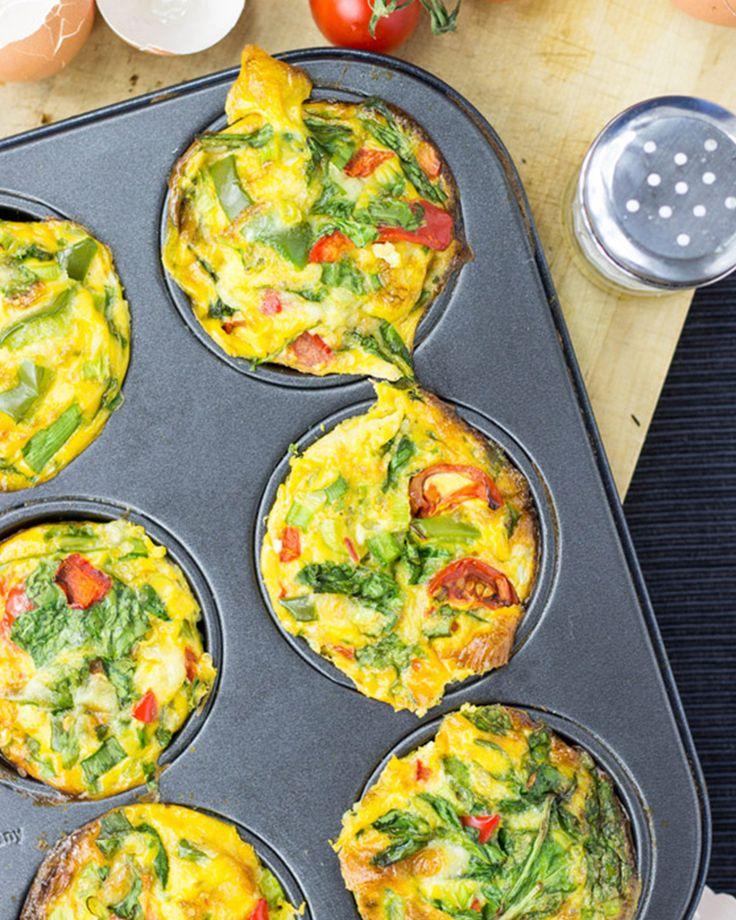 12. Egg Breakfast Muffins #healthy #breakfast #recipes http://greatist.com/health/healthy-fast-breakfast-recipes