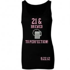 Custom 21st Birthday Shirts, Tank Tops, Sashes, & More