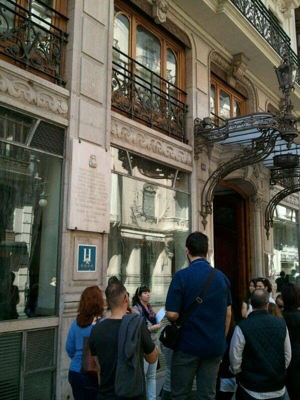 #caminsbelics Valencia CaminArt Hotel Palace