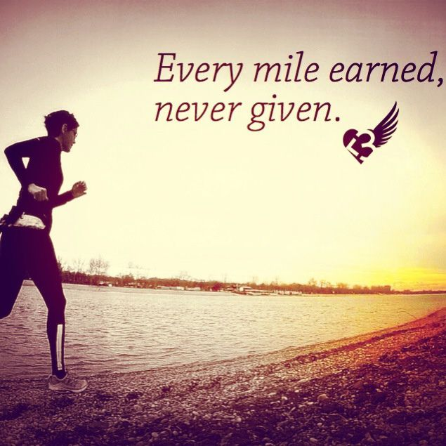 Every mile earned, never given.