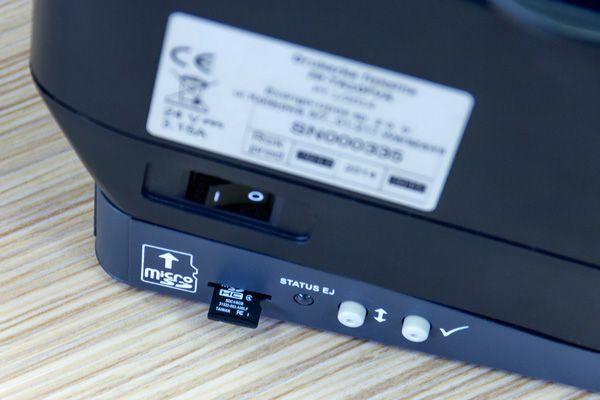 Exorigo-Upos FP-TA10 FVA i karta microSD. Tak się dziś robi elektroniczną kopię paragonów!