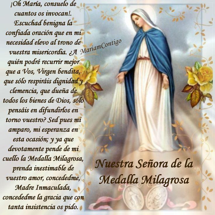 MARIA REINA Y SEÑORA POR SIEMPRE... / MI REINA MADRE...: ORACIÓN PARA HOY 271115