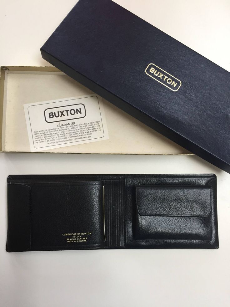 A personal favorite from my Etsy shop https://www.etsy.com/ca/listing/561699799/wallet-cambridge-by-buxton-vintage