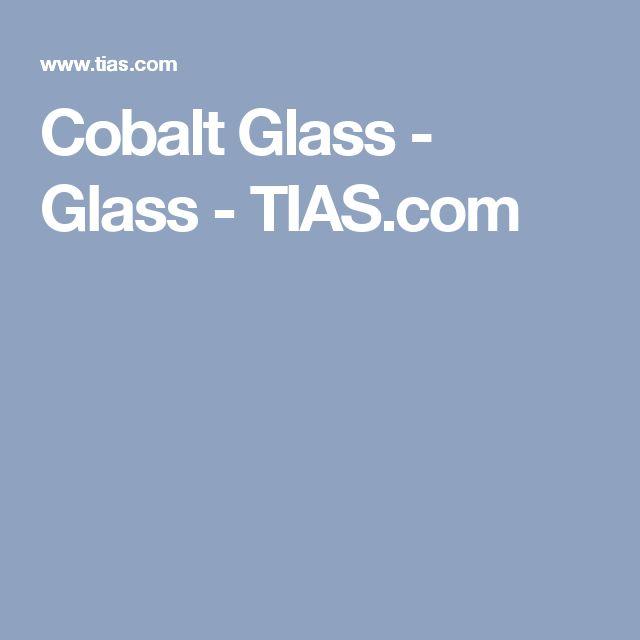 Cobalt Glass - Glass - TIAS.com