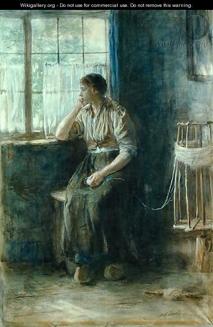Woman at the Window - Jozef Israels