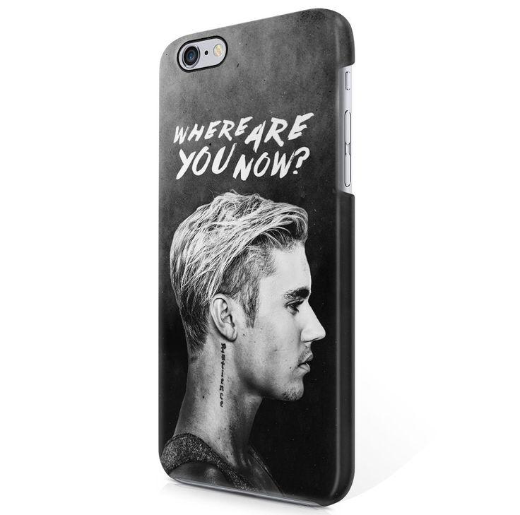 Amazon.com: Justin Bieber Where Are You Now Lyrics Tumblr iPhone 6 Plus & iPhone 6S Plus Hard Plastic Phone Case Cover: Cell Phones & Accessories