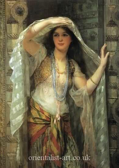 Iraqi women Baghdad 1900
