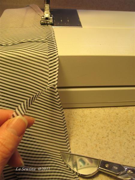 how to sew a nice tiny hem for sheer/lightweight fabrics