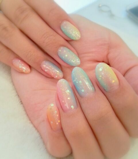 gradation nail designs