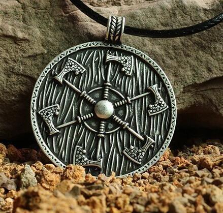 Pendant, amulet shield of Perun