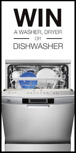Win A Washer, Dryer and Dishwasher