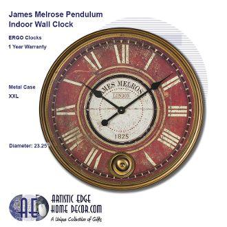 ERGO James Melrose Pendulum Clock