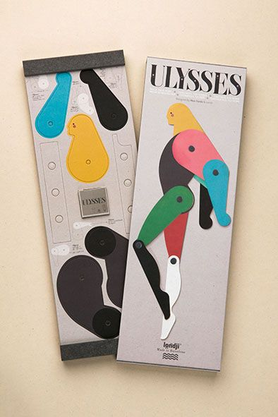 Ulysses - Build your hero - by #Londji, creative toys + #MarcSardà - http://www.londji.com/ca/baldufes/350-ulysses.html