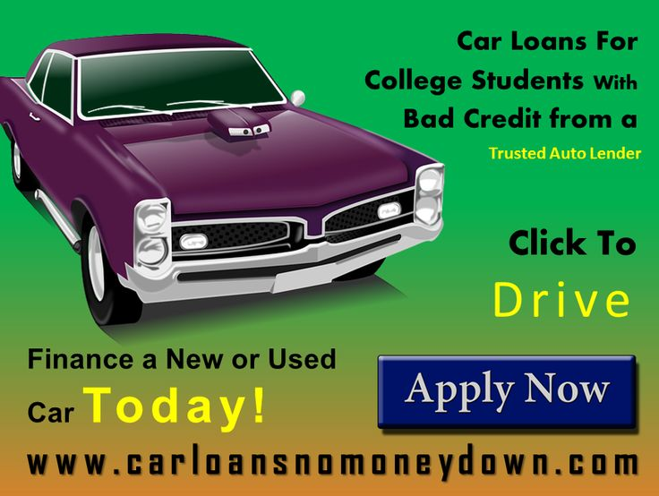 how to get a new car loan with bad credit