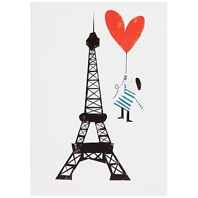Eiffel Tower .... Valentine's Day Card