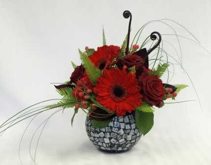 valentine flower arrangements | Valentines Flower Arrangement | Flower arrangements