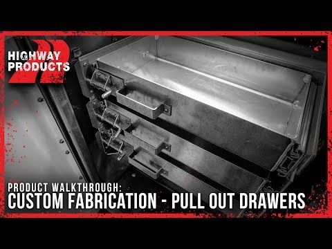 TRUCK BED DRAWER | TRUCK DRAWERS | TRUCK BED STORAGE DRAWERS | TRUCK TOOL STORAGE | TRUCK TOOL BOXES | DRAWERS FOR TRUCKS