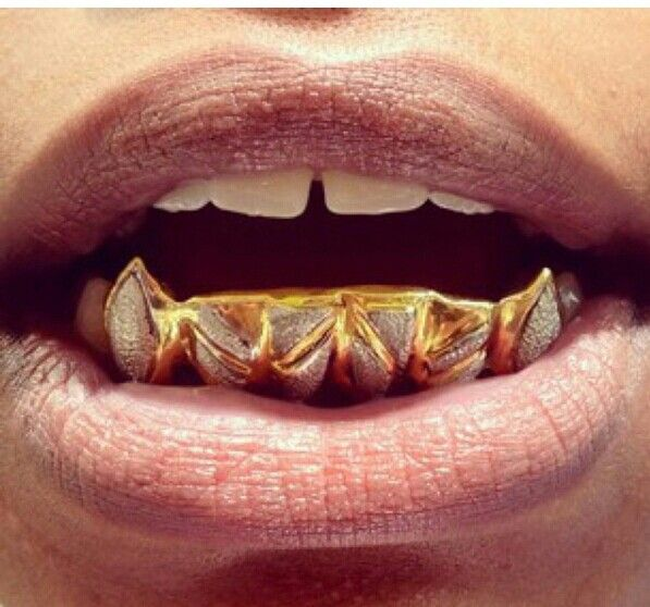 Gold Teeth Bottom Fangs | www.pixshark.com - Images ...