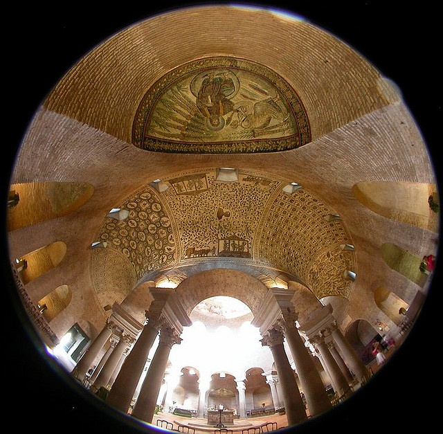Mausoleo di Santa Costanza 01 by kynggefisher, via Flickr