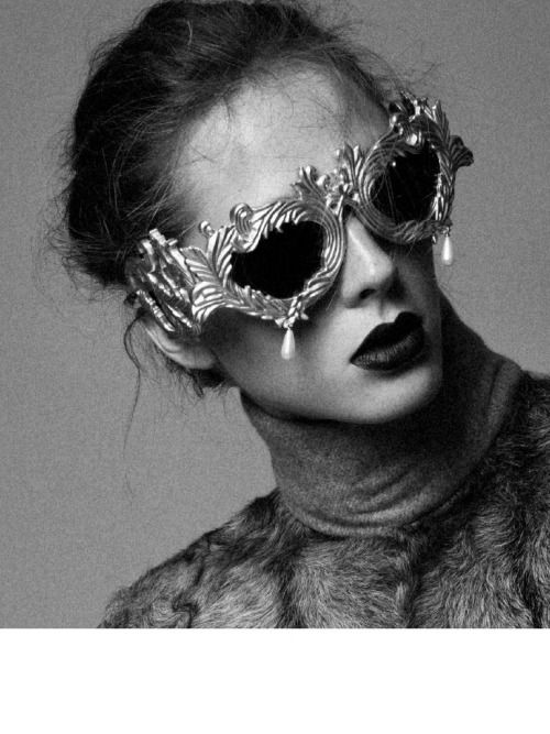 Natalia Zakharova x Stratis Kastrisianakis. sunglasses.