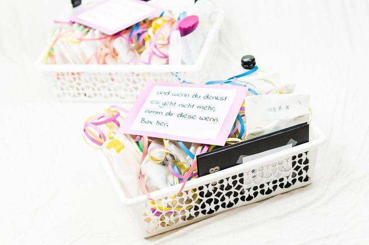 Ihr wisst nie, was ihr euren Liebsten schenken sollt? Eine Wenn Box schafft Abhilfe, denn sie ist das optimale Geschenk für jeden Anlass und jede Person.