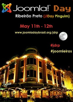 Joomla!Day Brazil Edition Ribeirão Preto, to be held on 11th and 12th May 2012 at the University of Ribeirão Preto – UNAERP.