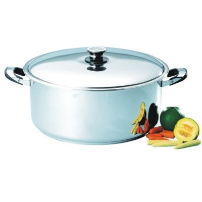 40cm Casserole High. Cooks for 30-35 People! http://nmcexquisite.com/cookware/40cm-cookware/30/e40h-casserole-high-detail