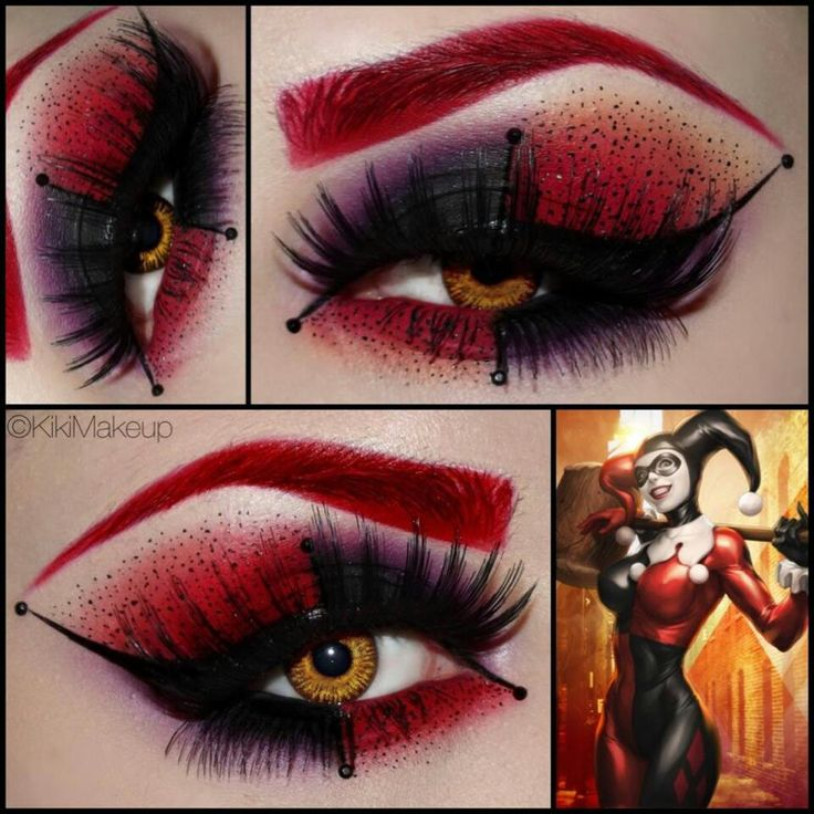 Harley Quinn makeup love it