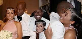 Image result for tyrese gibson wife