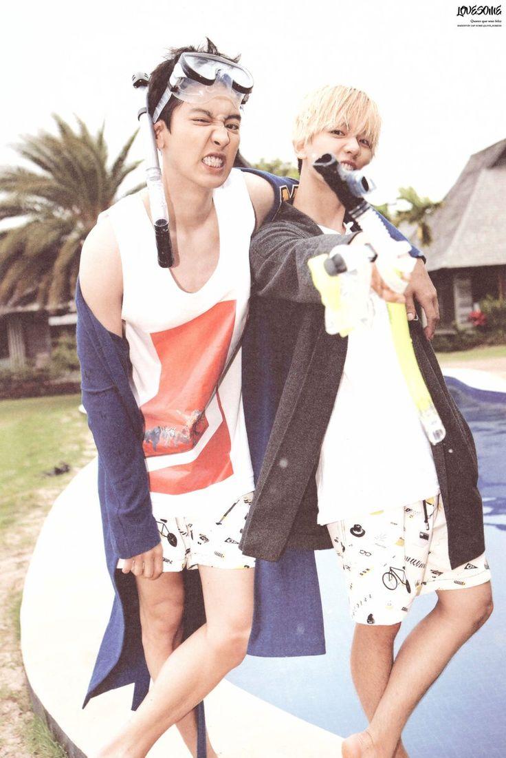 SCAN #Chanyeol #Baekhyun #EXO Dear Happiness #Photobook