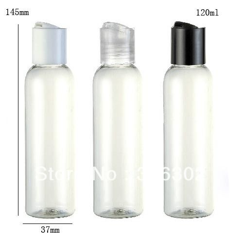 Free shipping   120ml clear cream bottle with disk cap,4 oz pet bottle,120ml plastic container,30m,60ml,100ml is available-in Bottles from Industry & Business on Aliexpress.com
