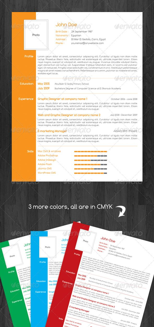 107 best Resumes \ Cover Letters images on Pinterest Resume - visual designer resume