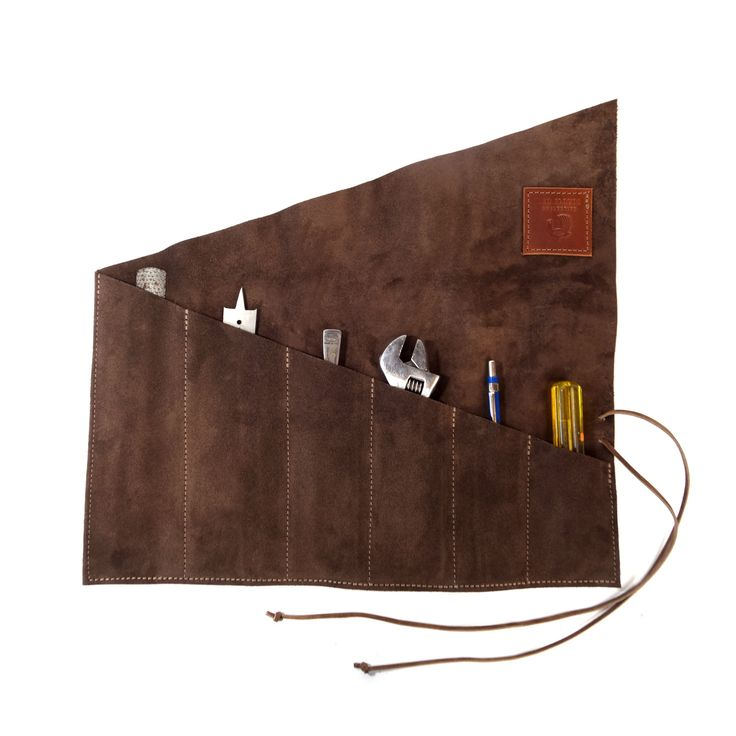 Old Timer Tool Roll - Brown