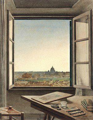 Комната с видом: открытое окно в 19 веке