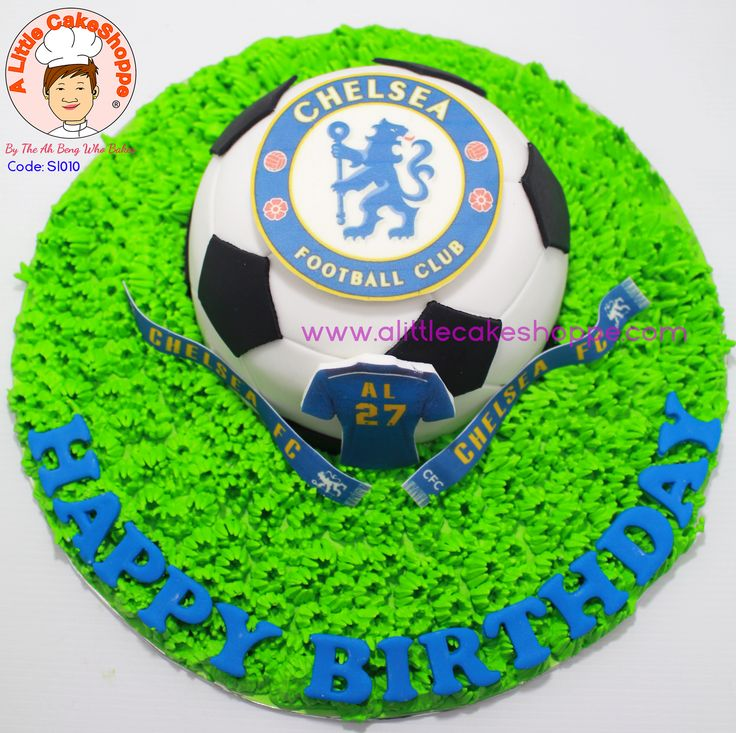 Chelsea Cake from A Little CakeShoppe Singapore