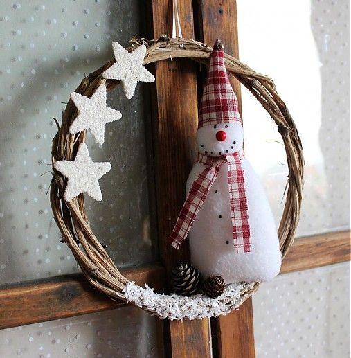 Poriadne zimný venček II. by tulip.dekoracie - SAShE.sk - Handmade Vianoce