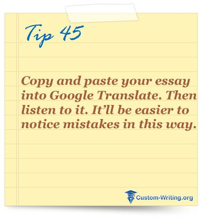 best college essay writing tips and life hacks images on copy and paste your essay into google translate and listen to it it ll