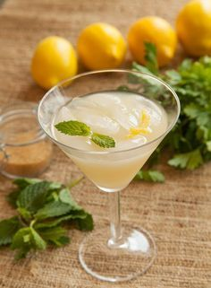 The Jaded Lady Absinthe Cocktail: Impress your guests with this refined drink, rich with flavor and history