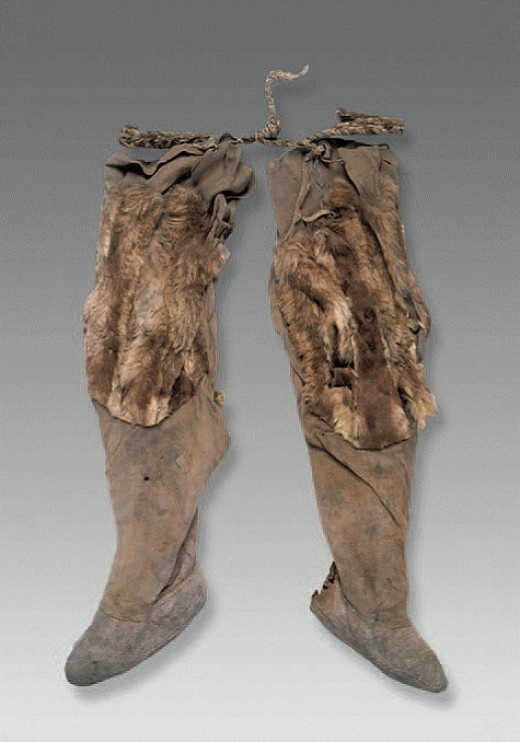 Ancient Leather Boots I Believe Ca 1500 Bce Ancient