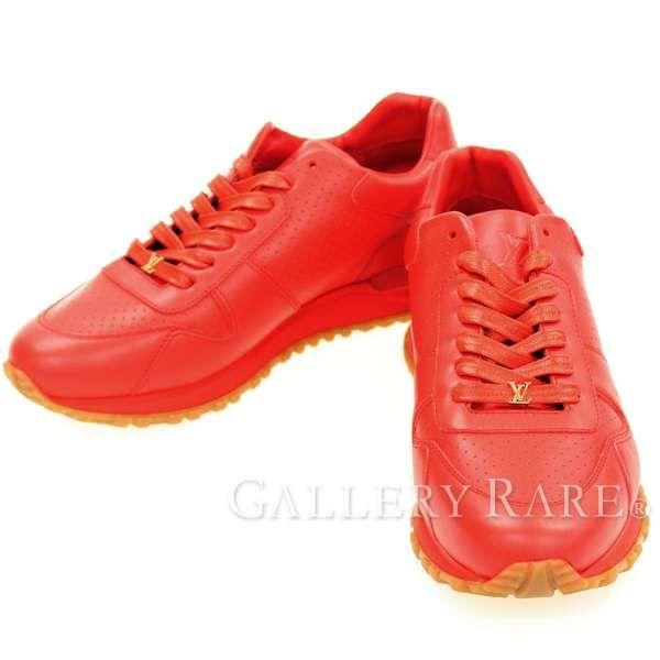 ルイヴィトン スニーカー シュプリーム コラボ Run Away Sneaker LOUIS VUITTON Supreme 限定 レア 靴 メンズサイズ7