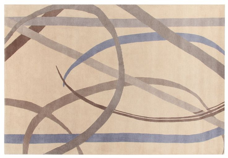 Sole Luna Rug Gio Ponti Carpet Collection Handknotted in Nepal by AMINI Tibetan Wool  250x300cm