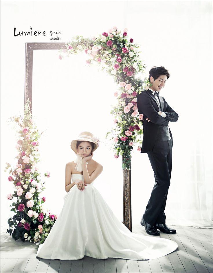 floral and vintage concept foto wedding