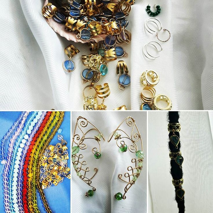 Hair and body Jewellery made fresh  daily off to US and local #Salmonanturals #jewelrydesigner #instalove #dreadbeads #elfears #earcuffs #toronto #shoplocal #416hustlers #summerfun #hairjewellery
