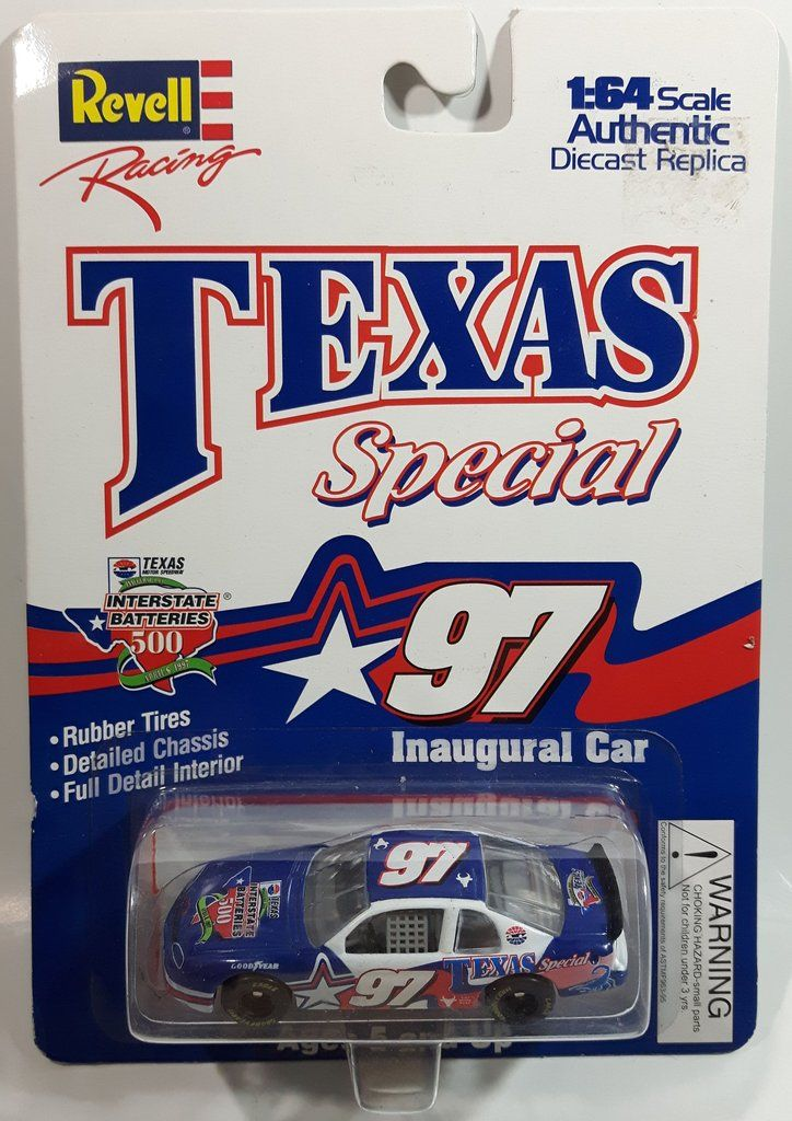 1997 Revell Racing Inaugural Race Nascar Interstate Batteries 500 Texas Special 97 Chevrolet Monte Carlo Dark Blue Red Wh In 2020 Chevrolet Monte Carlo Diecast Revell